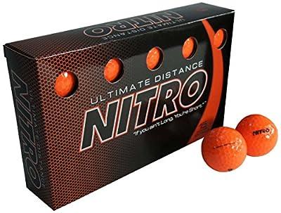 Nitro Ultimate Distance Golf Ball (15-Pack) (Renewed)