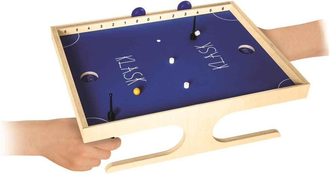 KLASK juego de mesa - The Magnetic Game of Skill - Juegos de habilidad - 45 x 34.4 x 13 cm: Amazon.es: Juguetes y juegos