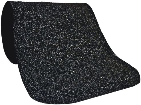 Grey 12-Feet Length X 3-Feet Width Nitrile//PVC Rubber Cushion Backing Andersen 443 Hog Heaven Confetti Nitrile Rubber Anti-Fatigue Interior Floor Mat 5//8-Inch Thick