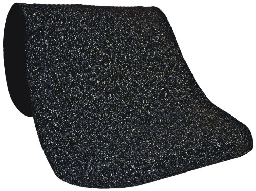 M+A Matting 443 Hog Heaven Confetti Nitrile Rubber Anti-Fatigue Interior Floor Mat, Nitrile/PVC Rubber Cushion Backing, 12' Length x 3' Width, 5/8