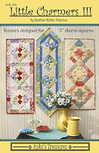 (Anka's Treasures Pattern 266 Little Charmers III Quilted Table Runners or Wall Hangings)