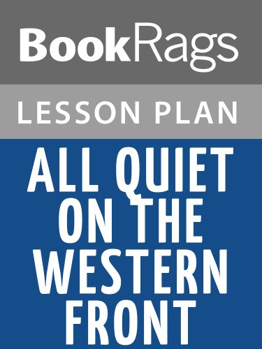 Lesson Plans All Quiet on the Western Front