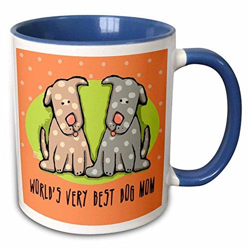 3dRose Fernleaf Designs Parents DOGS
