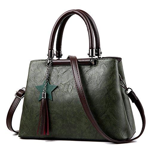 Sac Lady GWQGZ Sacoche De Sweet Lady Mode Jaune Nouveau Green Sac Bandoulière À 54Xw4S