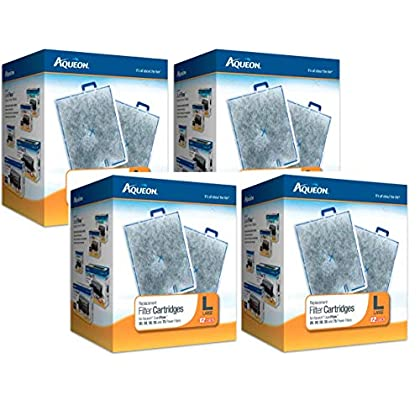 Image of Pet Supplies Aqueon 48-Pack Filter Cartridges for Aquarium, Large
