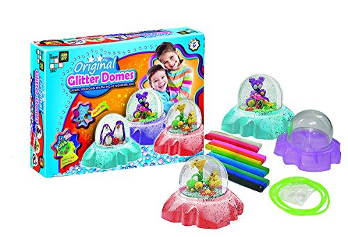 (AMAV Glitter Domes Kit for Kids - DIY Make Your Own Sparkling 3D Wonderland Decorative for Your)