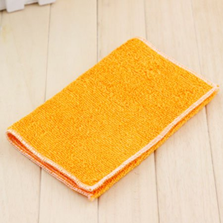 High Efficient Anti-Grease Color Dish Cloth Bamboo Fiber Washing Towel Magic Kitchen Cleaning Wiping (Mystic Maid Mop)