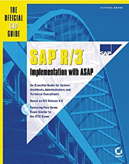 sap r 3 implementation with asap the official sap guide hartwig rh amazon com SAP IMG Guide Funny SAP ERP Implementation