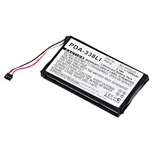 GPS Ultralast PDA-338LI Lithium, Lithium Ion (ICR/CGR/LIR) Battery 3.7 Volts