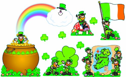 Carson Dellosa St. Patrick's Day Bulletin Board Set (3263)
