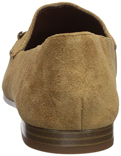 WESLIR West Suede Suede Nine Brown Loafer Women's Flat qO1xP6w8P