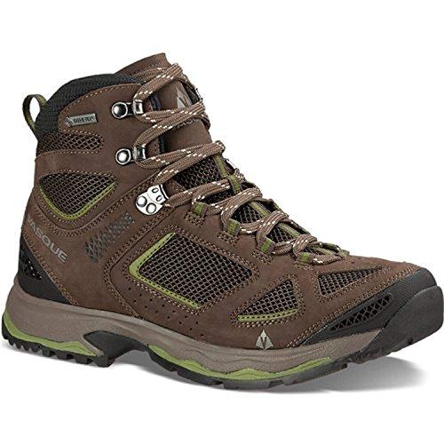 Vasque Men's Breeze III GTX Hiking Boots Brown Olive/Pesto 11 M & Cap Bundle