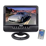 Pyle PLMN7SU 7-Inch Battery Powered TFT/LCD Monitor with MP3/MP4/USB/SD/MMC Card Player