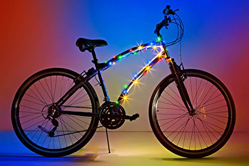 Brightz, Ltd. Cosmic Brightz LED Bicycle Frame Light, Multicolor