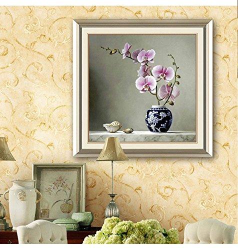 5D Pintura por Diamantes (ITM26821) flores