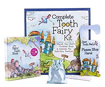 image relating to Tooth Fairy Stationary named Youngster Enamel Al Fairyland In depth Range Package, Blue