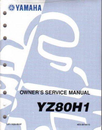 LIT-11626-09-97 1996 Yamaha YZ80 Service Manual pdf