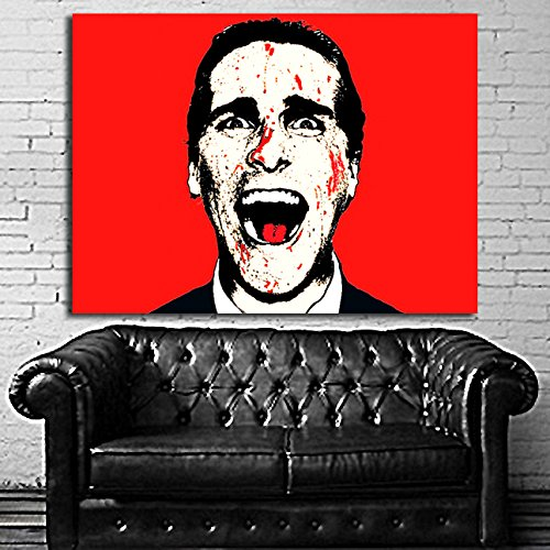 #18 Poster Canvas American Psycho 36x48 inch  Canvas & Stret