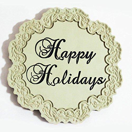 Happy Holidays wall decor Happy Holidays Wall Plaque