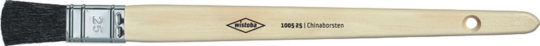 gerade Gr Wistoba Plattpinsel 1005 schwarze Chinaborsten 10
