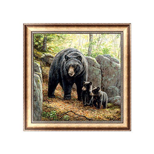 Bottone 5D DIY Diamond Painting Kit Rhinestone Embroidery Cross Stitch Arts Craft Decor Gift For Christmas Home Wall Decor,Bear