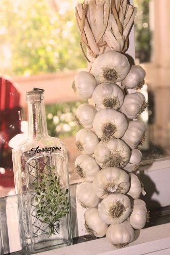 Fresh Garlic (Garlic Braid - 19 Bulb)
