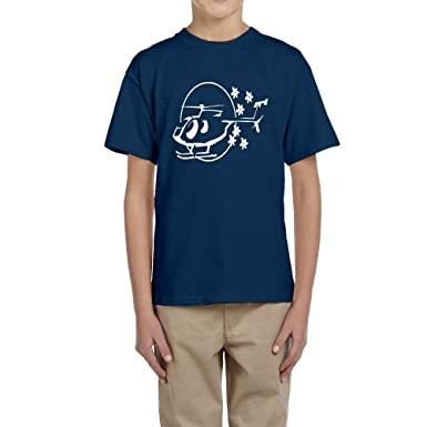 Amazon Com Fangner Youth Funny Helicopters Design Kids Boys Girls T