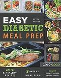 Easy Diabetic Meal Prep 2019-2020: Simple and
