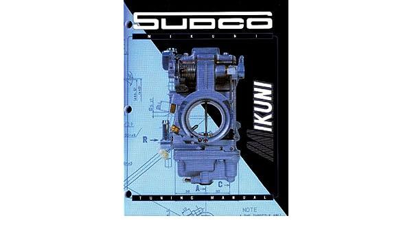 Mikuni Tuning Manual Sudco 002-999