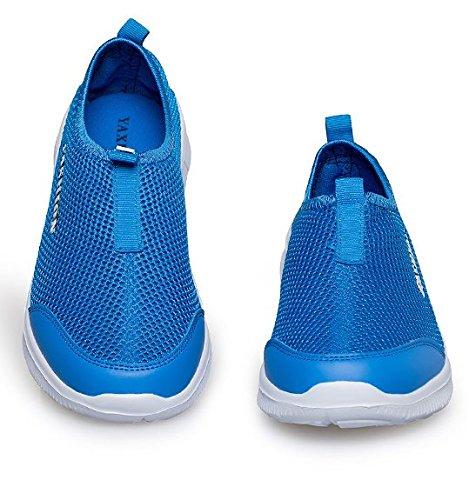 Transpirable zapatos hombres de verano/Amantes de los zapatos casuales de moda Azul
