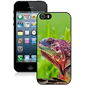 New Personalized Custom Designed For iPhone 5s Phone Case For Beautiful Chameleon Phone Case Cover