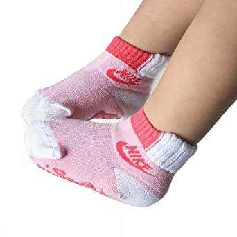 Nike antideslizante Graphic sx2975 142 Kids Calcetines, Unisex, color Rosa - rosa, tamaño mediano: Amazon.es: Deportes y aire libre