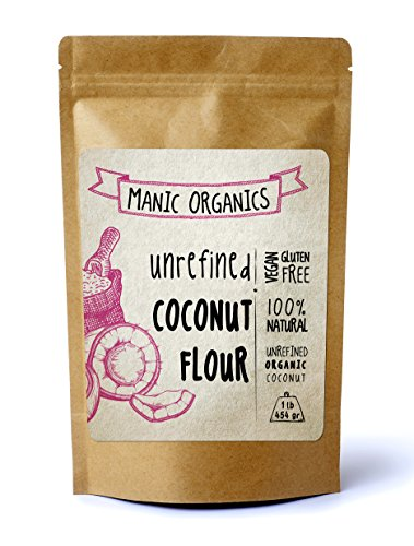 Coconut Flour - Organic, non GMO, Vegan, All Natural - I Lb Bag (Bobs Blue Cheese compare prices)