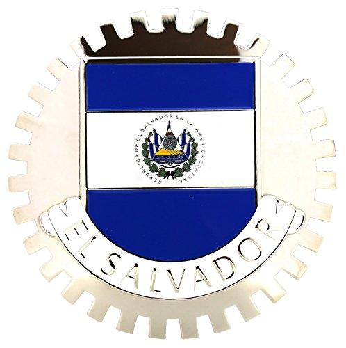 CAR GRILLE EMBLEM BADGES (El Salvador Emblem)
