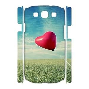 3D Okaycosama Funny Samsung Galaxy S3 Case Love 25 Protective Cute for Girls, Samsung Galaxy S3 Cases for Girls, [White]