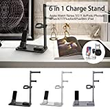 Headset Support 6 in 1 Aluminum Stand and Charging Dock Station for iWatch