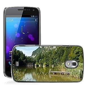 Etui Housse Coque de Protection Cover Rigide pour // M00169619 Austria escénica se nubla el cielo // Samsung Galaxy Nexus GT-i9250 i9250