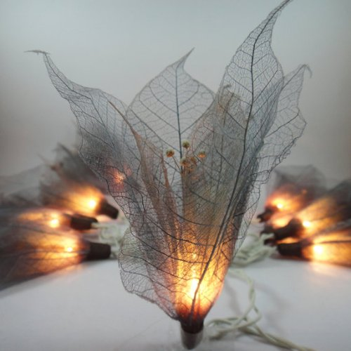 thai-handmade-20-dark-gray-color-bodhi-leave-special-with-pollen-flower-fairy-lights-string-35m-hang