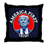 CafePress Trump America First Calendar - Decor Throw Pillow (18''x18'')