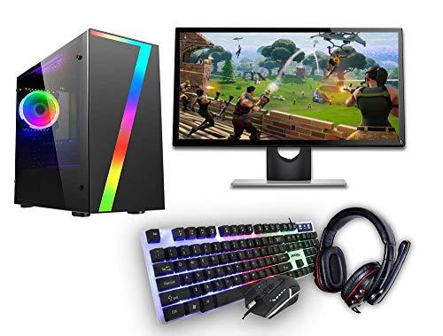 Windows 10 Gaming PC 22in Set (Renewed)