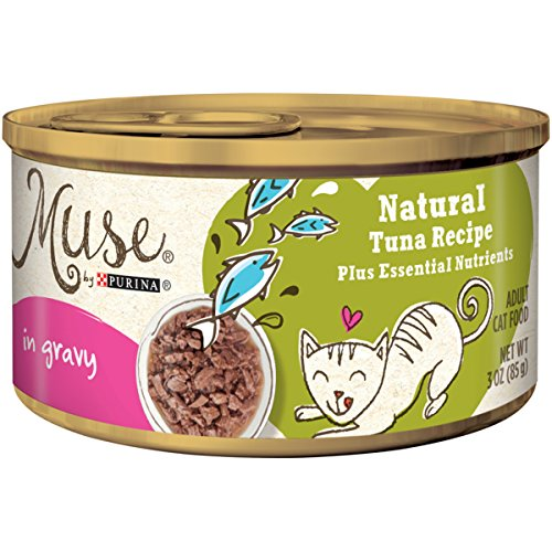 Muse by Purina Natural Gravy Wet Cat Food; Tuna Recipe - 3 oz. Can