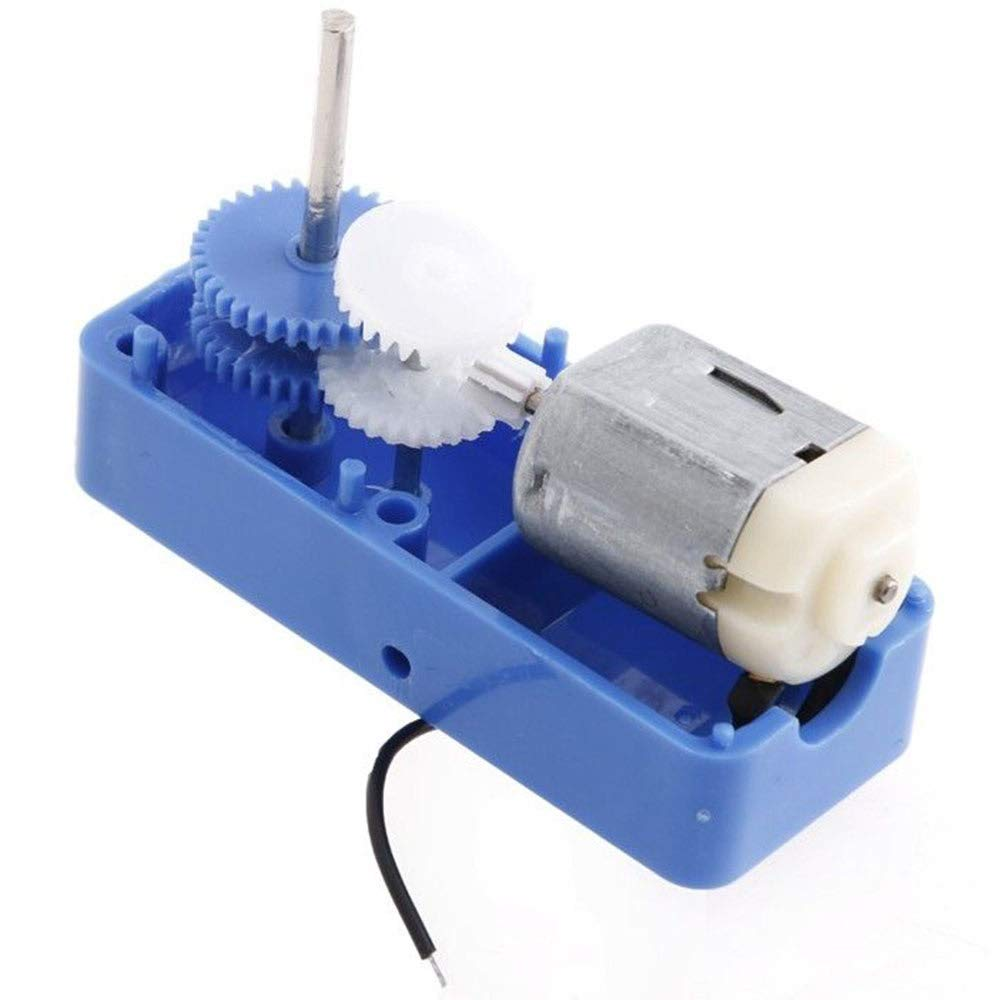 Refaxi 3V-6V DC 1:90 Mini Gear Box Motor Electric Reduction Gear Box Motor DIY Toy Robot Car