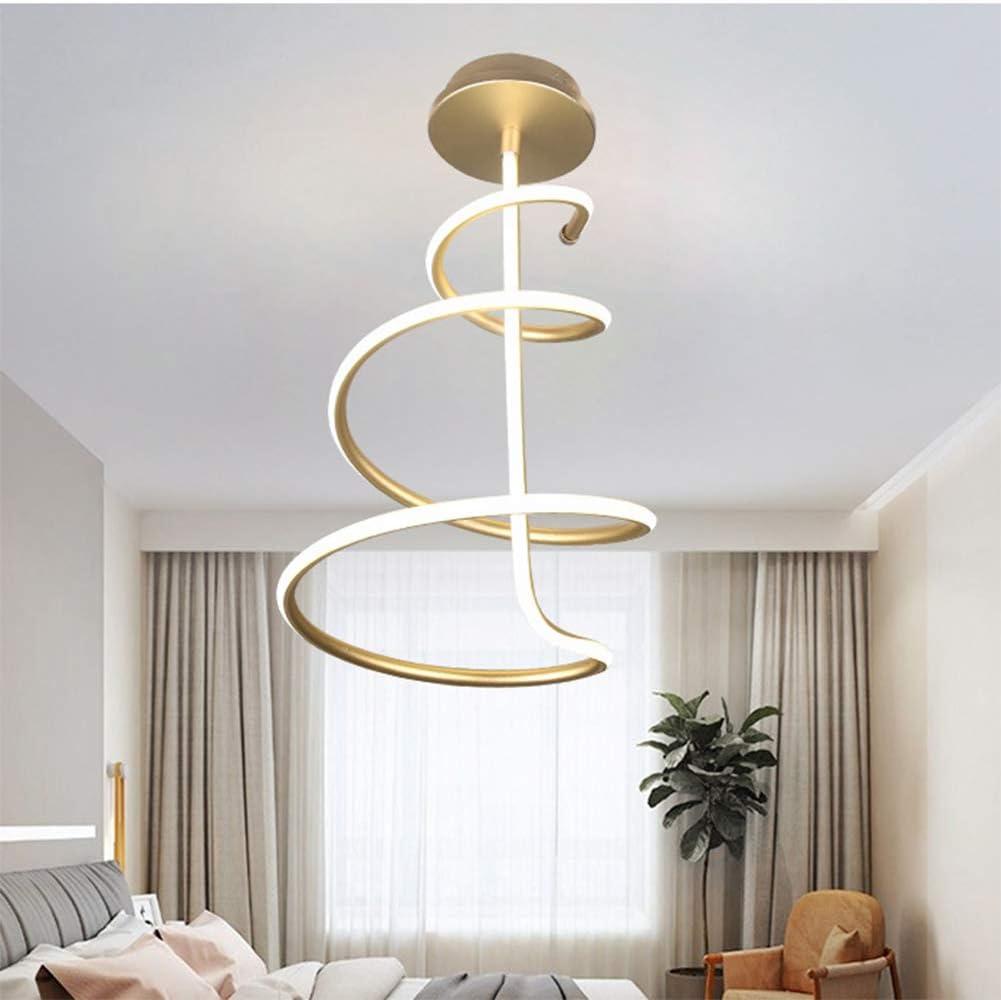 Lámpara de Techo Moderno Minimalista Creativo Arte Silicona acrílico Material LED lámpara para Dormitorio Sala de Estar Cuarto de baño balcón iluminación Pasillo,Monochrome,52w