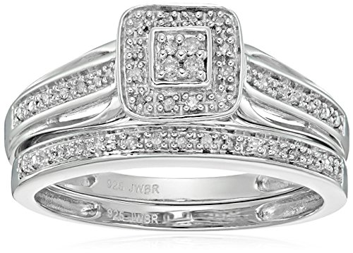 Diamond Set Cluster Ring - 1