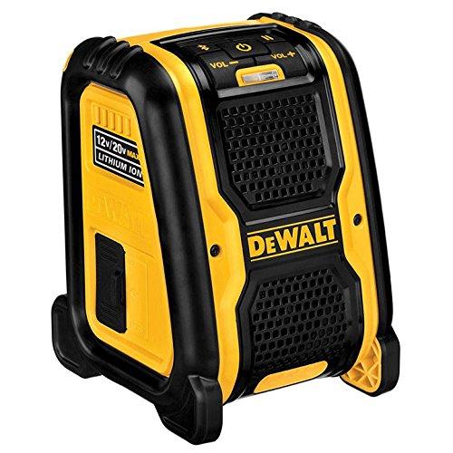 DEWALT DCR006 12 volt 20 volt Bluetooth