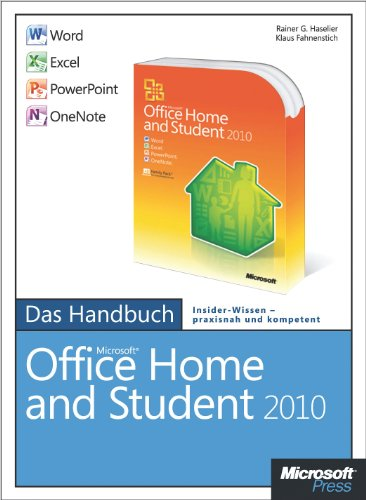 Amazon Com Microsoft Office Home And Student 2010 Das Handbuch