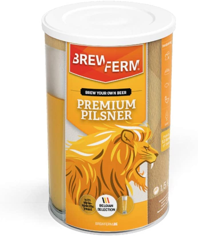 Brewferm - Kit de Cerveza Premium Pilsner – Gold