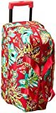 Vera Bradley Women's Lighten up Wheeled Carry on, Rumba
