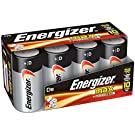 Energizer D Cell Batteries Max Alkaline (8-Count)