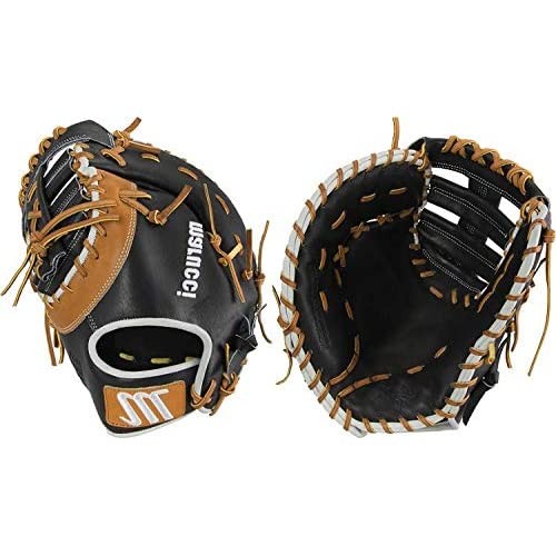 Image of First Baseman's Mitts Marucci Capitol Series 13.00' First Base Mitt: MFGCP39S1 MFGCP39S1-BK/TF